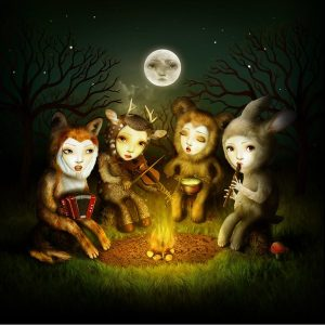 Forest_Campfire_Animal_Band